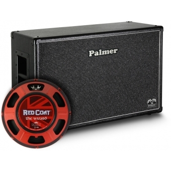 """Palmer CAB 212 WIZ OB - Guitar Cabinet 2 x 12"""" with Eminence Wizard 8/16 Ohm Open Back"""