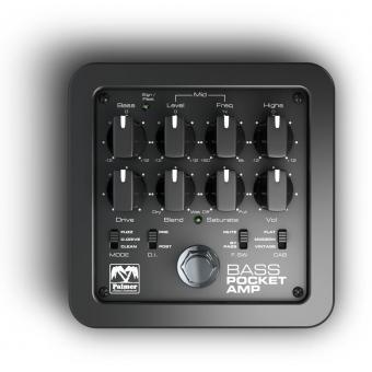 Palmer POCKET AMP BASS - Portable Bass Preamp #3