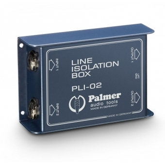 Palmer LI 02 - Line Isolation Box 2 Channel