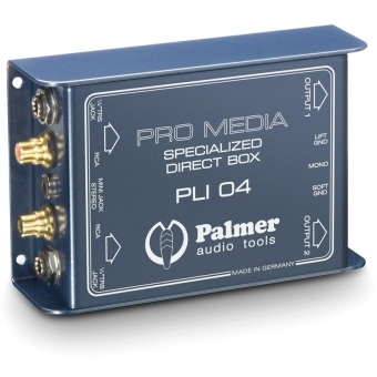 Palmer LI 04 - Media DI Box 2-Channel for PC and Laptop