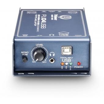 Palmer LI 04 USB - 2-Channel USB DI Box and Line Isolator #3
