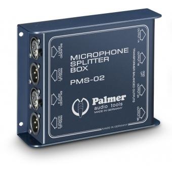 Palmer MS 02 - Dual Channel Microphone Splitter