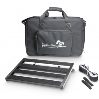 Palmer PEDALBAY® 40 - Lightweight Variable Pedalboard with Protective Softcase 45 cm