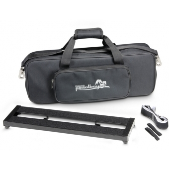 Palmer PEDALBAY® 50 S - Lightweight Compact Pedalboard with Protective Softcase 50 cm