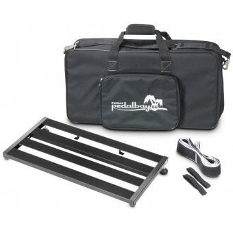 Palmer PEDALBAY® 60 - Lightweight Variable Pedalboard with Protective Softcase 60 cm