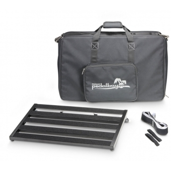 Palmer PEDALBAY® 60 L - Lightweight Variable Pedalboard with Protective Softcase 60 cm