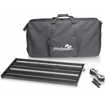 Palmer PEDALBAY 80 - Lightweight variable Pedalboard with Protective Softcase 80 cm #2