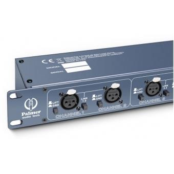 Palmer RMMS 8 - 8-Channel Microphone Splitter #6
