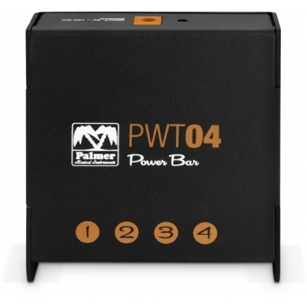 Palmer PWT 04 - Universal Pedalboard Power Supply 4-Outputs #5