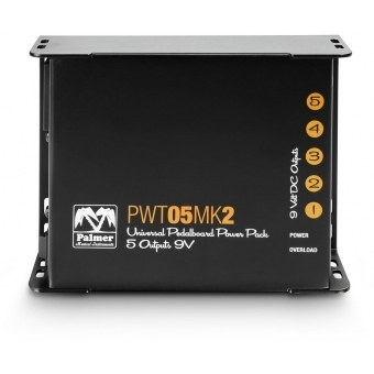 Palmer PWT 05 MK 2 - Universal 9V Pedalboard Power Supply 5 Outputs #3