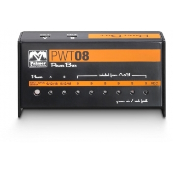 Palmer PWT 08 - Universal 9V Pedalboard Power Supply 8 Outputs #3