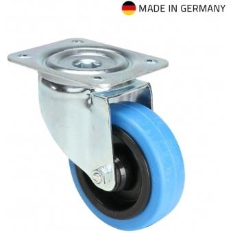 Tente 37033 - Swivel Castor 100 mm with blue Wheel