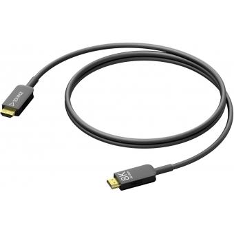 CLV310A/15 HDMI 2.1 Active optical cable – HDMI A male - HDMI A male - HighFlex™-15m