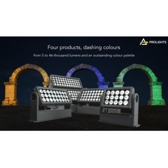 Prolights ARCPOD96Q - 96X10W high power  (two-headed) RGBW/FC outdoor IP66 LED wash light #7