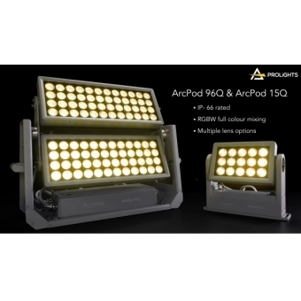 Prolights ARCPOD15Q - Compact 15x10W RGBW/Fc outdoor IP66 LED wash light for exterior installations #5
