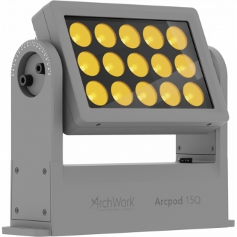 Prolights ARCPOD15Q - Compact 15x10W RGBW/Fc outdoor IP66 LED wash light for exterior installations