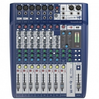 MIXER AUDIO SOUNDCRAFT SIGNATURE 10