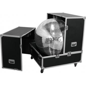 ROADINGER Flightcase Mirror Ball 100cm #4