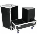 ROADINGER Flightcase 2x PAS-212