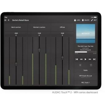 Amplificator MFA216 Solutie audio All-in-one 2 x 80W @ 4 Ohm - 160W @ 70/100V #4