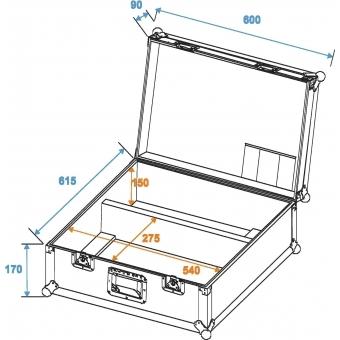 ROADINGER Flightcase 2x TS-150/TS-7/TS-255 #2