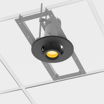 Prolights ECLDISPCEILKIT Ceiling adapter kit for EclDisplay (without flange)