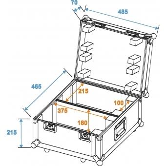 ROADINGER Flightcase 2x TSL-100/TSL-200 #2