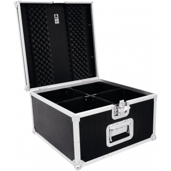 ROADINGER Flightcase 4x PAR-56 Spot short