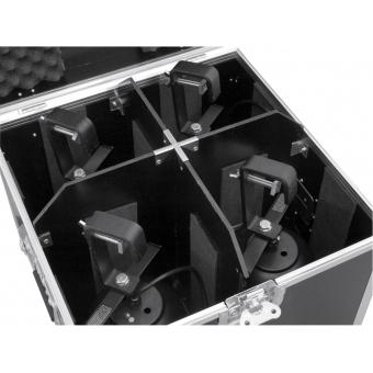 ROADINGER Flightcase 4x PAR-56 Spot long Clamp #5