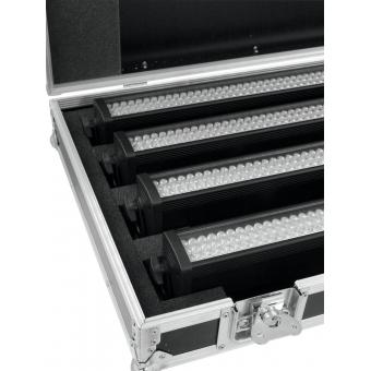 ROADINGER Flightcase 4x LED BAR-252 RGB #5