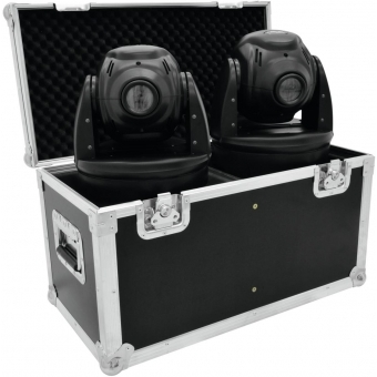 ROADINGER Flightcase 2x TMH-3/3.1/4/5/10/11