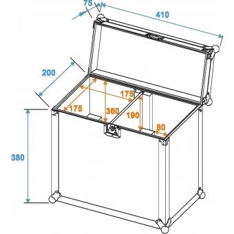 ROADINGER Flightcase 2x TMH-6/7/8/9 clamp #2