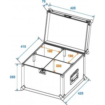 ROADINGER Flightcase 4x TMH-6/7/8/9 #2