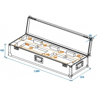 ROADINGER Flightcase KLS Kompact Light Sets #9
