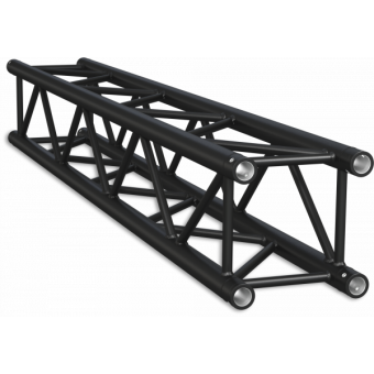 HQ30400B - Square section 29 cm HEAVY Truss, extrude tube 50x3mm, FCQ5 included, L.400cm,BK #9