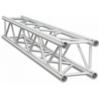 HQ30025B - Square section 29 cm HEAVY Truss, extrude tube 50x3mm, FCQ5 included, L.25cm,BK
