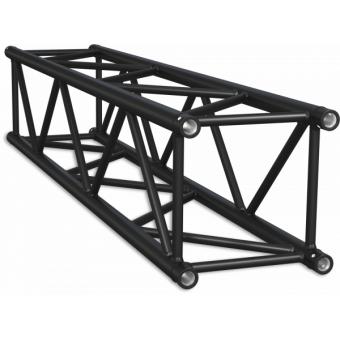 SQ40500B - Truss sezione quadrata 40 cm, tubo corr. Ø50x2mm, FCQ5 incluso, L.500cm,BK #16