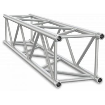 SQ40500B - Truss sezione quadrata 40 cm, tubo corr. Ø50x2mm, FCQ5 incluso, L.500cm,BK #3