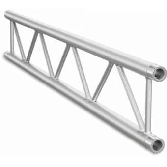 SF30100B - Flat section 29 cm truss, extrude tube 50x2mm, FCF5 included, L.100cm,BK