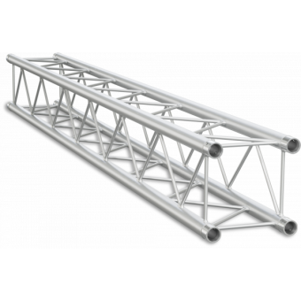 SQ22100 - Square section 22 cm truss, tube Ø 35x1,5mm, FCQ3 included, L.100cm
