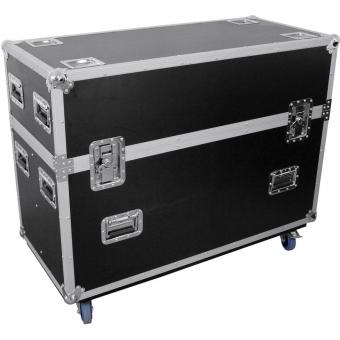ROADINGER Flightcase 2x LCD ZLD32/42
