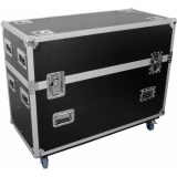 ROADINGER Flightcase 2x LCD ZLD32/42
