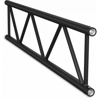 SF40300B - Flat section 40 cm truss, extrude tube Ø50x2mm, FCF5 included, L.300cm,BK #9