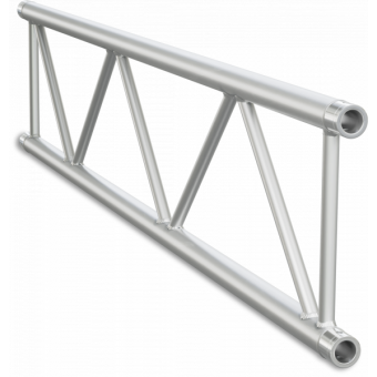 SF40300B - Flat section 40 cm truss, extrude tube Ø50x2mm, FCF5 included, L.300cm,BK
