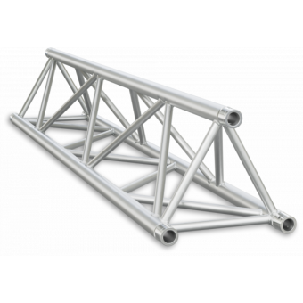 ST40050B - Triangle section 40 cm truss, extrude tube Ø50x2mm, FCT5 included, L.50cm, BK