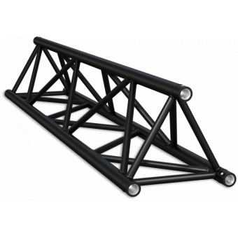ST40100B - Triangle section 40 cm truss, extrude tube Ø50x2mm, FCT5 included, L.100cm,BK #8