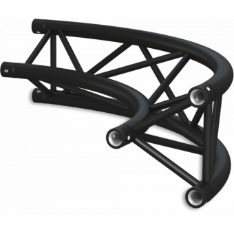 ST30C300U - Triangle section 29 cm circle truss, tube 50x2mm, 4x FCT5 included, D.300, V.Up #14