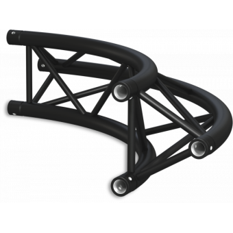 ST30C300EB - Triangle section 29 cm circle truss, tube 50x2mm,4x FCT5 included,D.200,V.Ext,BK #17