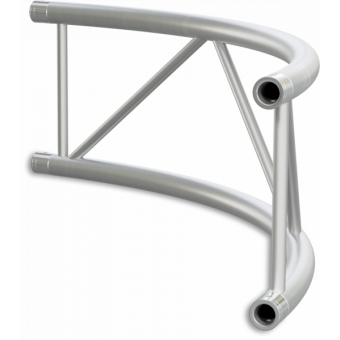 SF40C300H - Flat section 40 cm circle truss, tube 50x2mm, 4x FCF5 included, D.300, Horiz. #8