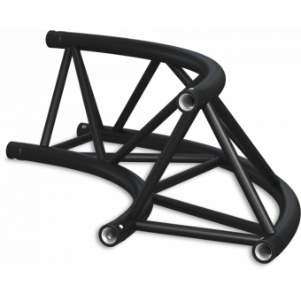 ST40C300U - Triangle section 40 cm circle truss, tube 50x2mm, 4x FCT5 included, D.300, V.Up #12